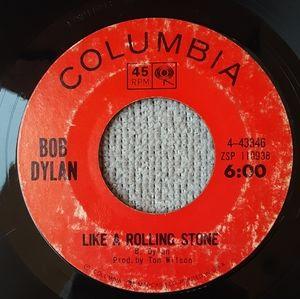 Bob Dylan 45 rpm like a rolling stone